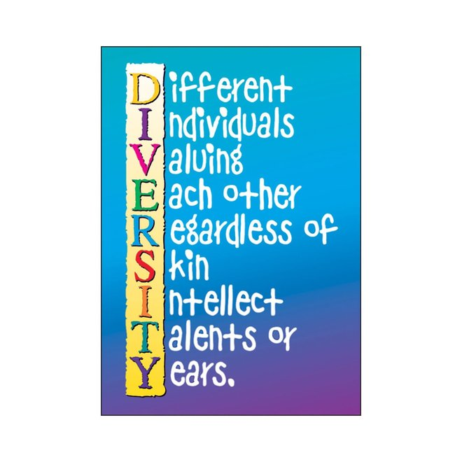 Diversity (blue/purple)-Poster