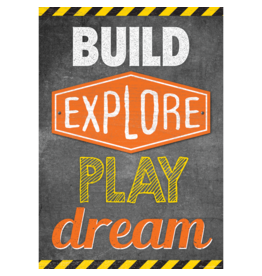Build, Explore, Play, Dream-Poster