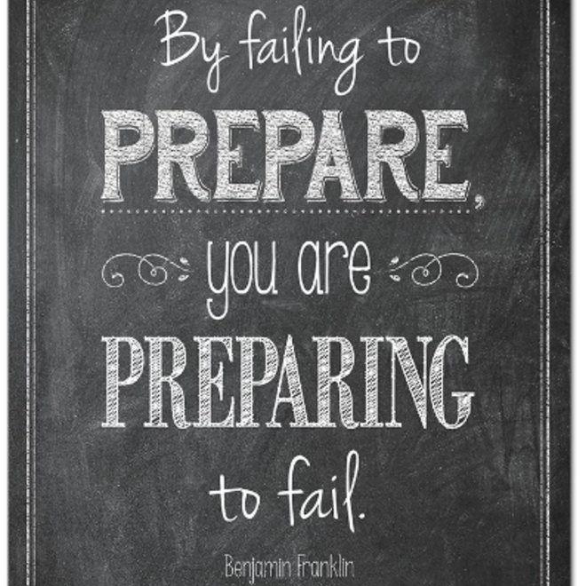 By Failing to Prepare-Poster