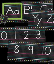 Alphabet Line Bulletin Board