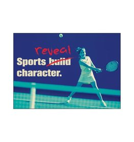 Sports Reveal Character-Poster
