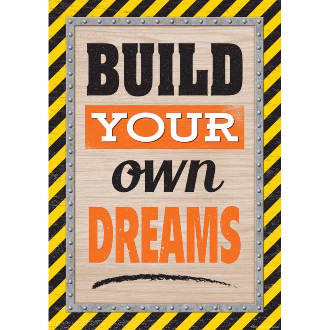 Build Your Own Dreams-Poster