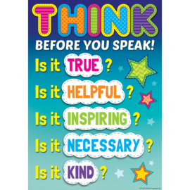 Think Before You Speak...-Poster