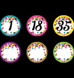 Confetti Confetti Numbers Magnetic Accents