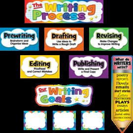 The Writing Process Mini Bulletin Board Set