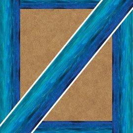 Shades Of Blue Border