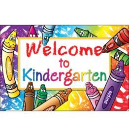 Welcome to Kindergarten Postcard
