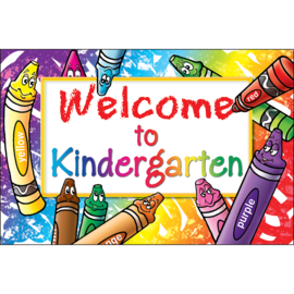 Welcome to Kindergarten Postcard