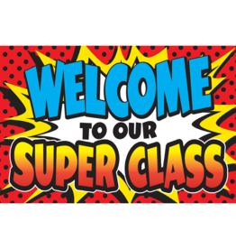 Superhero Welcome Postcard
