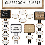 Industrial Chic Classroom Jobs