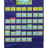 Deluxe Calendar Pocket Chart