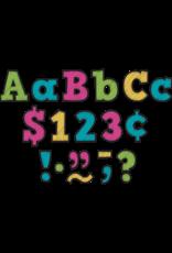 "Chalkboard Brights 3"" Letters"
