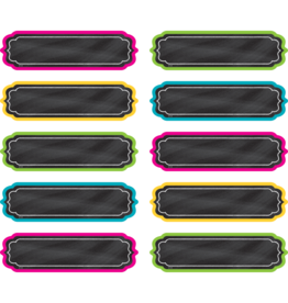 Chalkboard Brights Labels