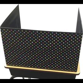 Chalkboard Brights Privacy Screen