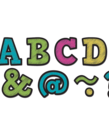 "Chalkboard Brights 2"" Magnetic Letters"