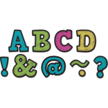 """Chalkboard Brights 2"""" Magnetic Letters"""