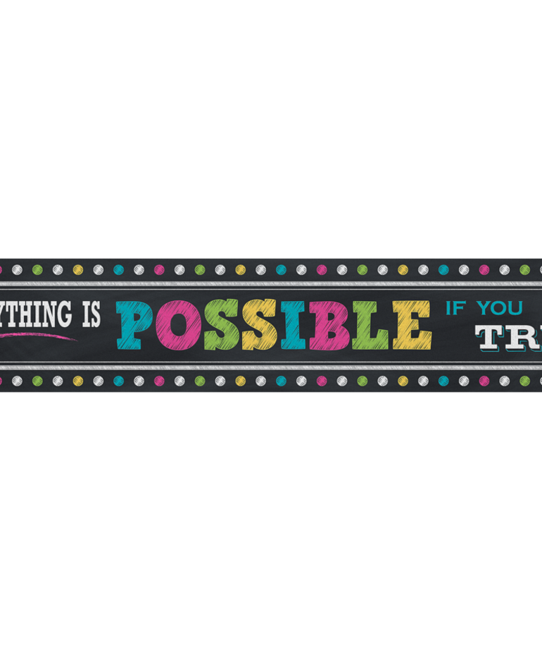 Anything is Possible Banner
