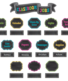 Classroom Jobs Mini Bulletin Board