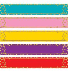 Confetti Large  Colorful Labels Magnetic Accents
