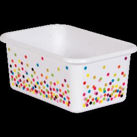 Confetti Confetti Small Plastic Storage Bin