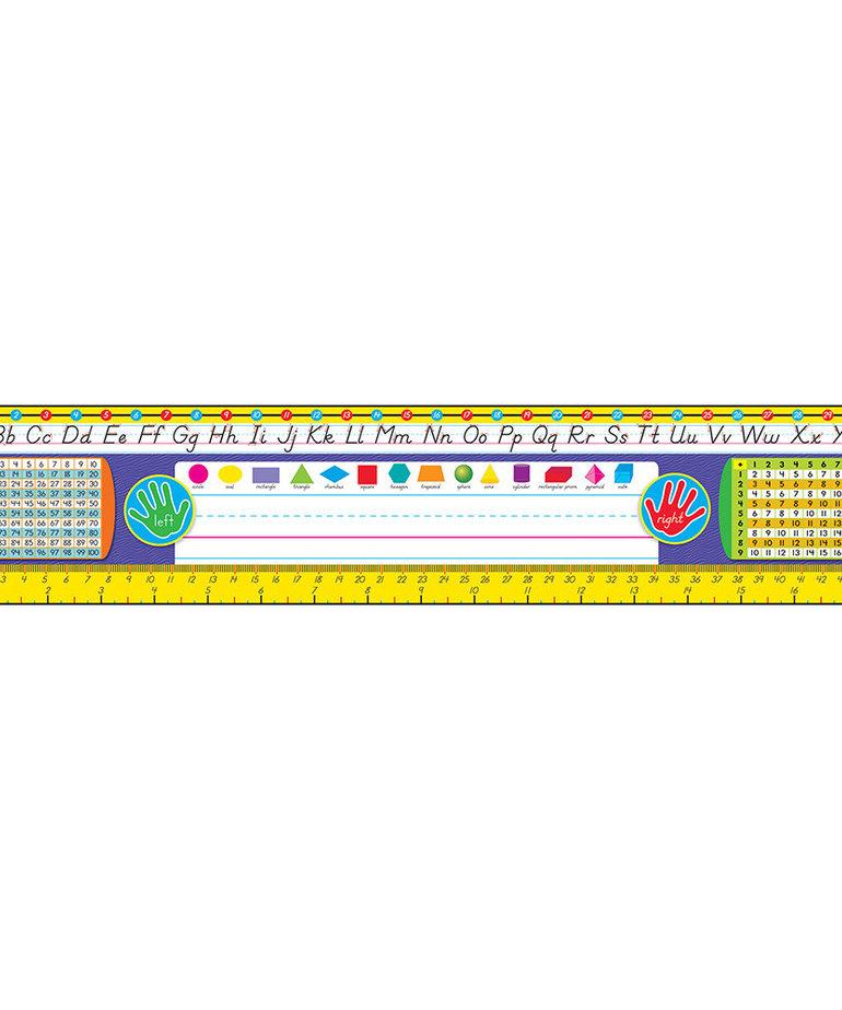 Grades 2-3 Modern Deskplate