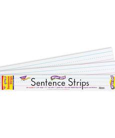 "24"" Write On Wipe-Off Sentence Strip"