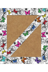 Woodland Whimsy  Butterfly Straight Border