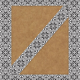 Simply Stylish Tile Straight Border