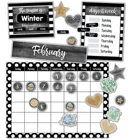 Simply Stylish Succulent Calendar Bulletin Board
