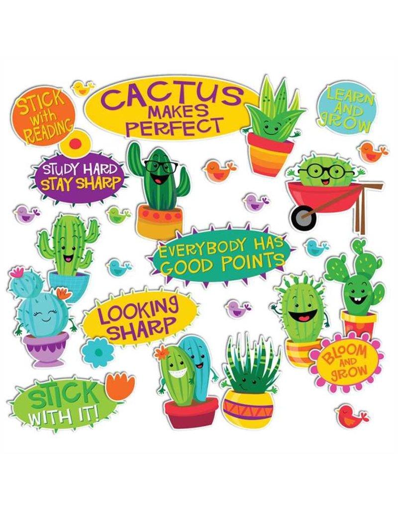 Cactus Encouragment Mini Bulletin Board