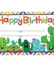 Cactus Happy Birthday Award