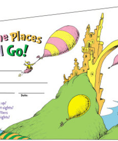 Dr. Suess Oh The Places You Will Go Award