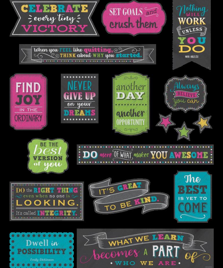 Positive Sayings Mini Bulletin Board