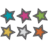 Chalkboard Brights Mini Star Accents