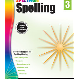 Spectrum Spelling (3) Book