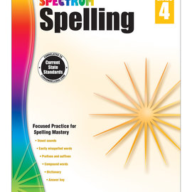 Spectrum Spelling (4) Book