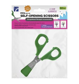 Self-Opening Scissor (Left/Green)