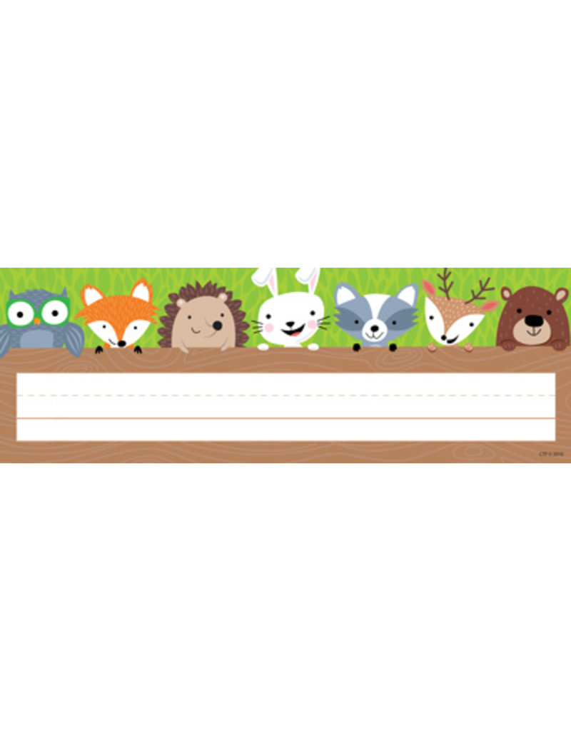Woodland Friends Name Plates