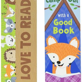 Woodland Friends Camp Out Bookmarks