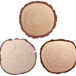 Woodland Friends Wood Slices Accents