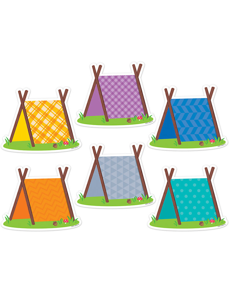 Woodland Friends Pup Tents Accents