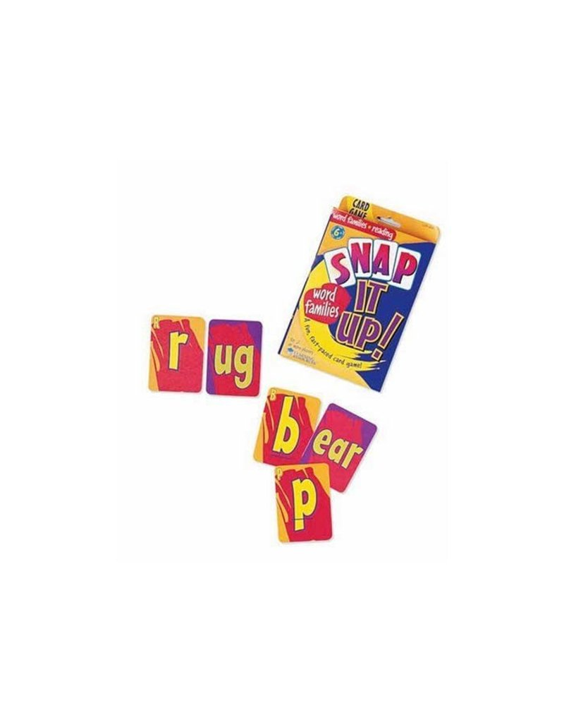 SNAP IT UP! Phonics: Word Families
