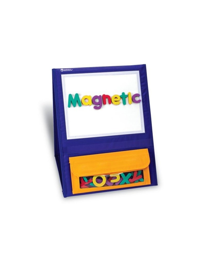 Learning Resources Double-Sided Magnetic Tabletop Pocket Chart