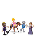 Melissa & Doug Wooden Flexible Figures Royal Kingdom