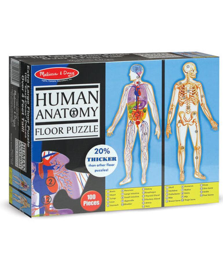 Melissa & Doug Human Anatomy Puzzle