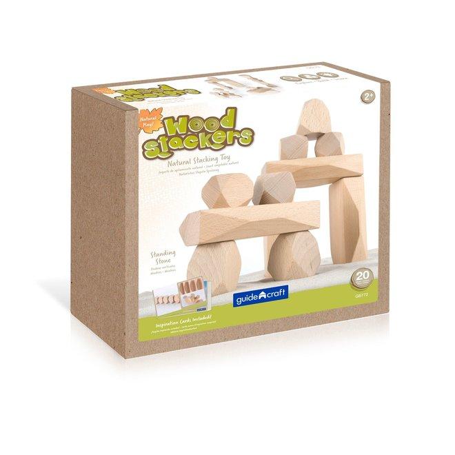 Wooden Stackers Standing Stones