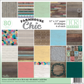 Farmhouse Chic Project Paper