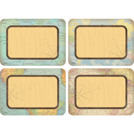Travel The Map Name Tags/Labels