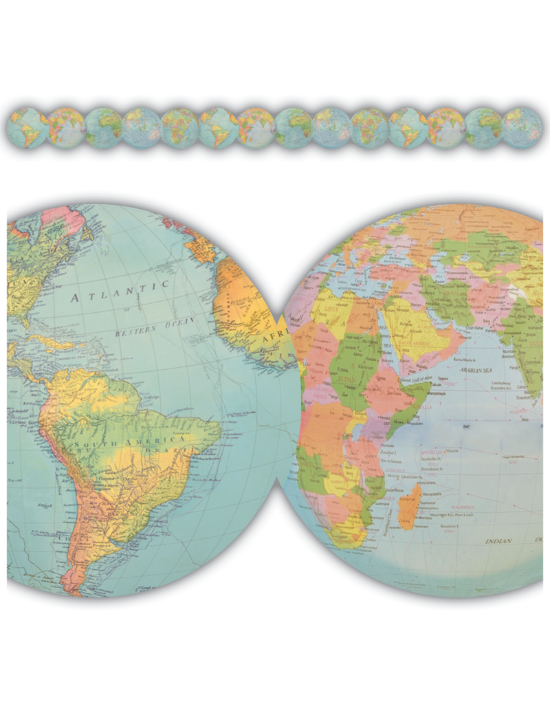 Travel The Map Globe Trimmer