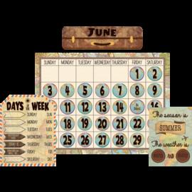 Travel The Map Calendar Bulletin Board